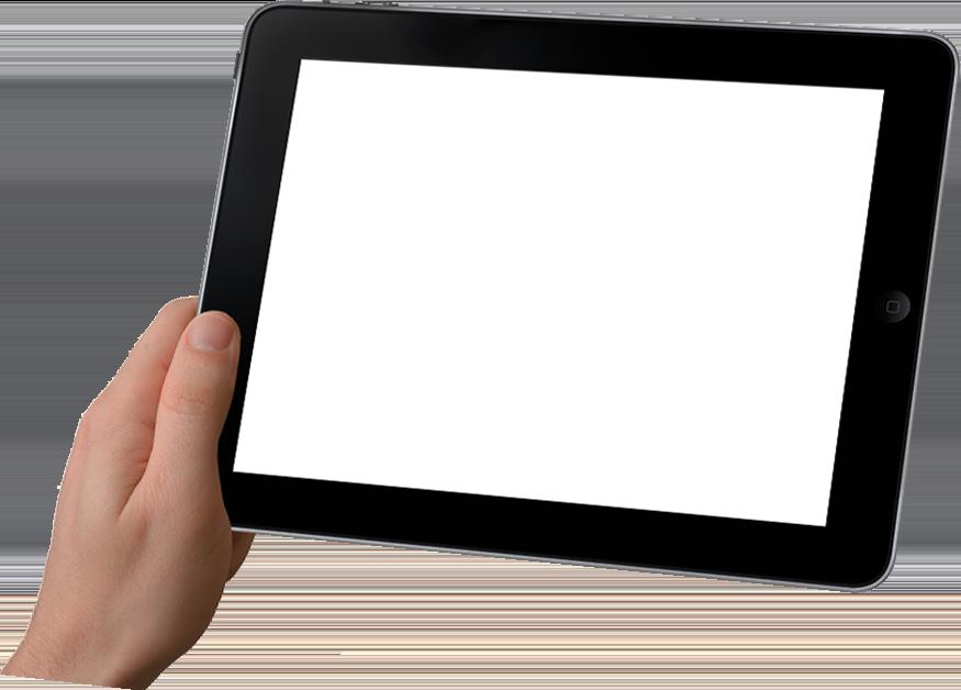 tabletに対応したホームページ